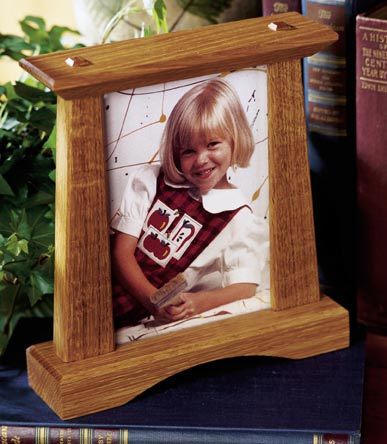 4x6 Photo Stand Woodworking Plan, Gifts & Decorations Picture Frames