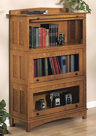 Barrister's Bookcase Woodworking Plan, Furniture Bookcases & Shelving