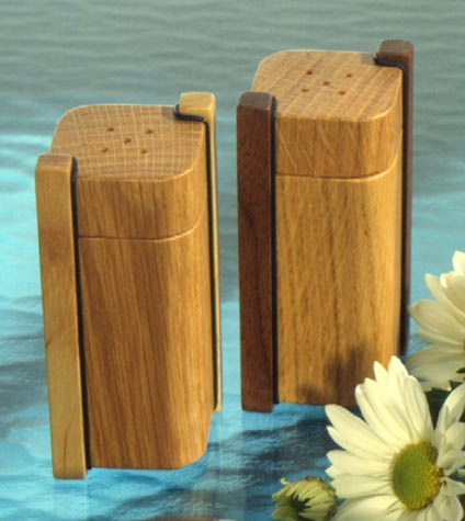 Salt & Pepper Shakers Woodworking Plan, Gifts & Decorations Kitchen Accessories