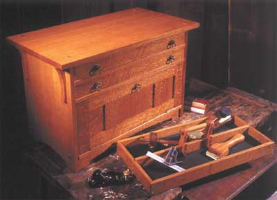 Craftsman's Pride Tool Chest Woodworking Plan, Workshop & Jigs Shop Cabinets, Storage, & Organizers