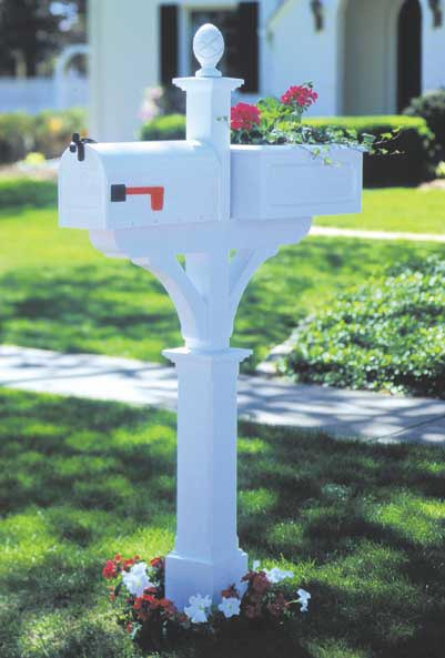Mailbox Planter Woodworking Plan, Outdoor Outdoor Accessories