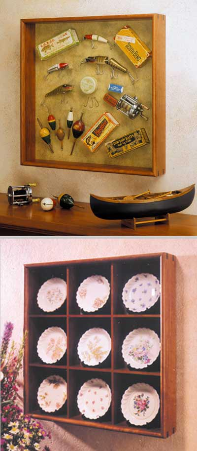 Shadow Box Woodworking Plan, Gifts & Decorations Picture Frames
