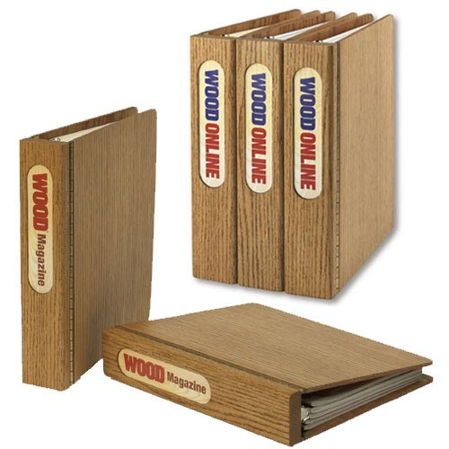 Article and Magazine Binder Woodworking Plan, Gifts & Decorations Office Accessories