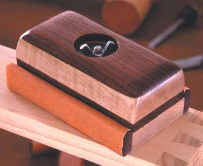Sanding Block Woodworking Plan, Workshop & Jigs Hand Tools Workshop & Jigs $2 Shop Plans