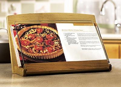 Cookbook Holder Woodworking Plan, Gifts & Decorations Kitchen Accessories