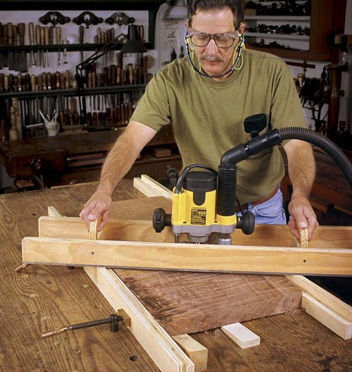 5 Workshop Projects from 3 Shop-Smart Pros Woodworking Plan, Workshop & Jigs Jigs & Fixtures