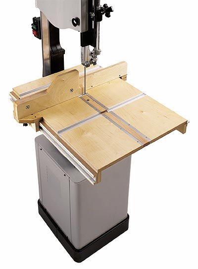Bandsaw Table System Woodworking Plan, Workshop & Jigs Jigs & Fixtures