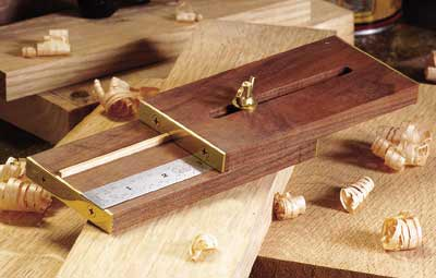 Marking Gauge Woodworking Plan, Workshop & Jigs Hand Tools Workshop & Jigs $2 Shop Plans