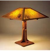 Arts & Crafts Lamp Plan Woodworking Plan, Gifts & Decorations Lighting