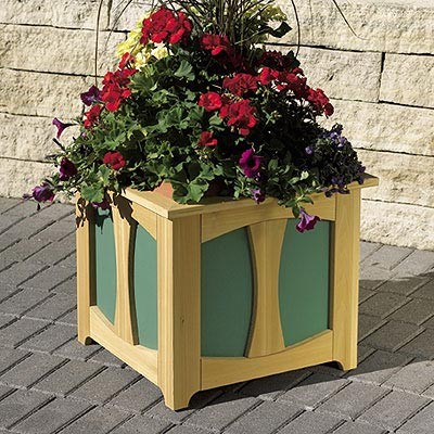 Patio-Perfect Planter Box Woodworking Plan, Outdoor Planters