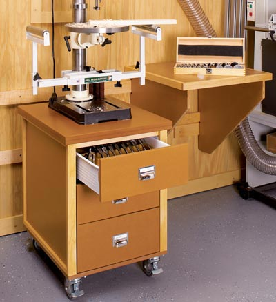 3-Drawer Utility Cabinet Woodworking Plan, Workshop & Jigs Shop Cabinets, Storage, & Organizers