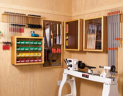 Super-Flexible Shop Storage Woodworking Plan, Workshop & Jigs Shop Cabinets, Storage, & Organizers