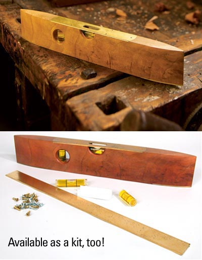 Torpedo Level Plan Woodworking Plan, Workshop & Jigs Hand Tools Workshop & Jigs $2 Shop Plans