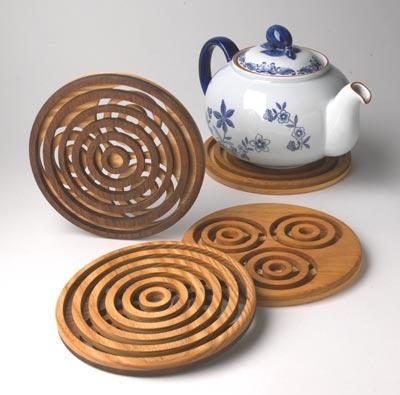 Trivet Pursuit Woodworking Plan, Gifts & Decorations Kitchen Accessories