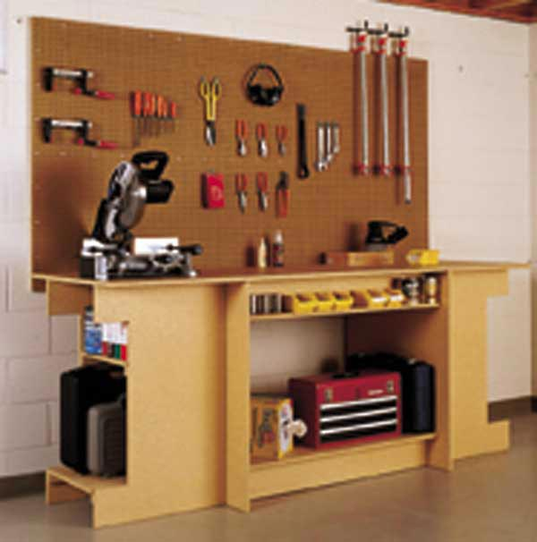 One-Day Workbench Woodworking Plan, Workshop & Jigs Workbenches