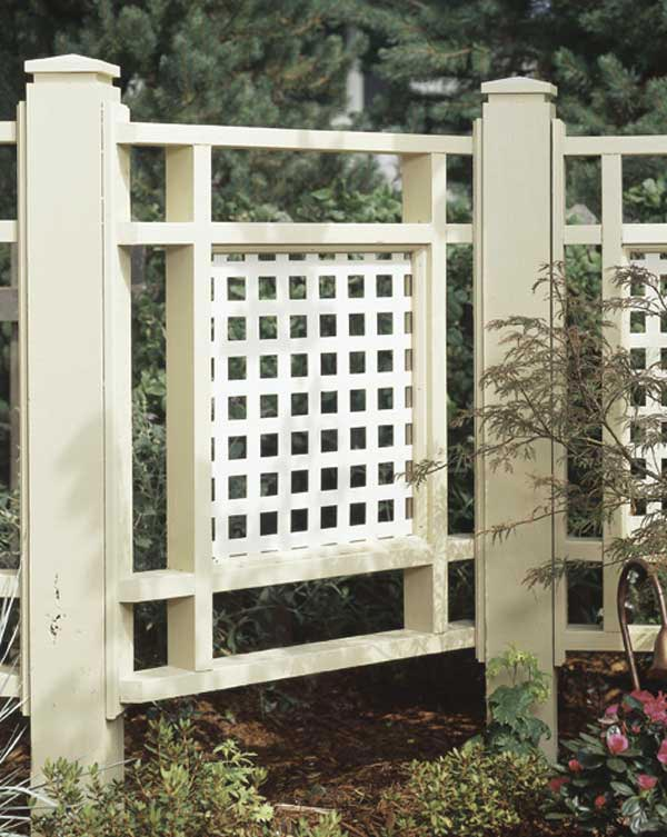 Good Neighbor Fence Woodworking Plan From Wood Magazine