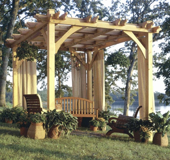 Wood magazine pergola plans rustic cedar chest plans for Diy free standing pergola