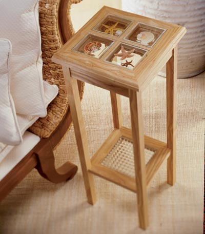 Dashing and adaptable display stand Woodworking Plan, Furniture Tables
