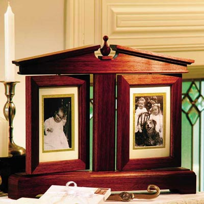 Pivoting picture frame Woodworking Plan, Gifts & Decorations Picture Frames