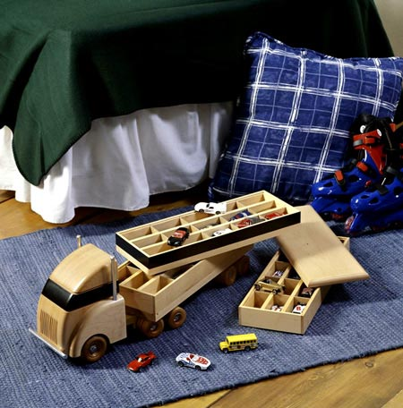 Big rig for little drivers Woodworking Plan, Toys & Kids Furniture