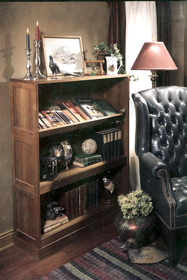 All-around reading rack bookshelf Woodworking Plan, Furniture Bookcases & Shelving