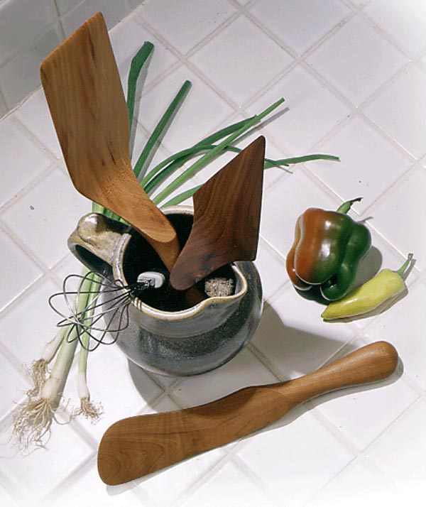 Now you're cookin' bandsawn kitchen utensils Woodworking Plan, Gifts & Decorations Kitchen Accessories