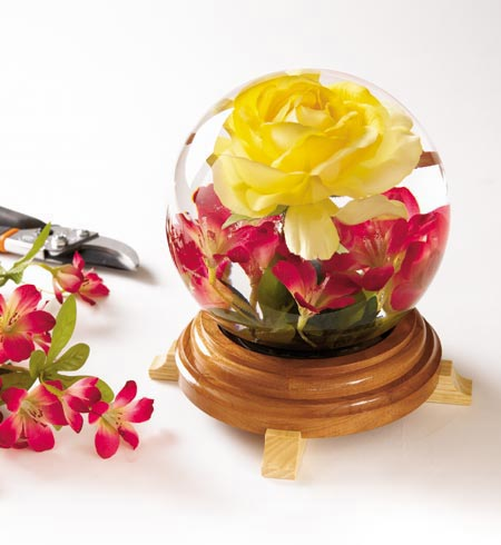 Water Garden Under Glass Woodworking Plan, Gifts & Decorations Lighting