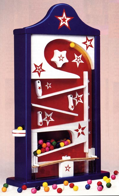 Have a ball gumball machine Woodworking Plan, Toys & Kids Furniture