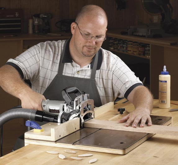 Accurate-Alignment biscuit-Joiner Jig Woodworking Plan, Workshop & Jigs Jigs & Fixtures