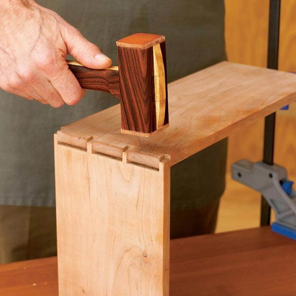 Dead-Blow Mallet Woodworking Plan, Workshop & Jigs Hand Tools Workshop & Jigs $2 Shop Plans