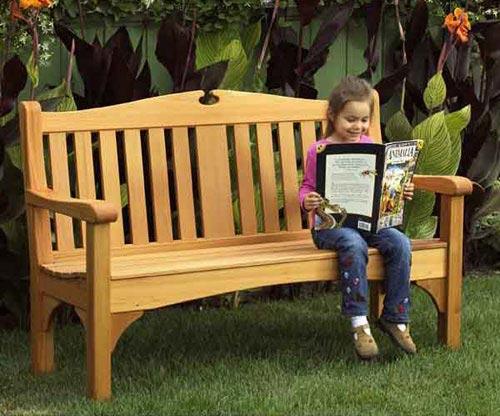 Comfy Classic Garden Bench