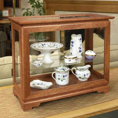 Full-view display case Woodworking Plan, Gifts & Decorations Boxes & Baskets Furniture Cabinets & Storage