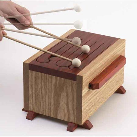 Tone-of-fun tongue drum Woodworking Plan, Toys & Kids Furniture