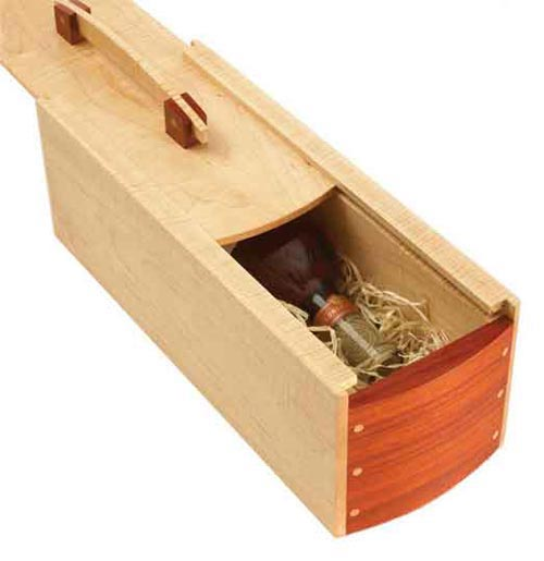 Gift-perfect Wine Box Woodworking Plan, Gifts & Decorations Boxes & Baskets