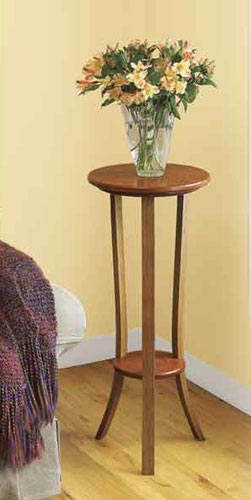 Simply Graceful Plant Stand & Steam-Bending Technique Woodworking Plan, Furniture Tables