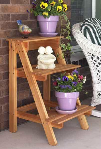 Step-by-Step Plant Stand