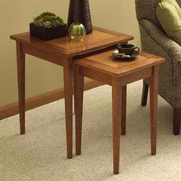 Perfect-Pair of Nesting Tables Woodworking Plan, Furniture Tables