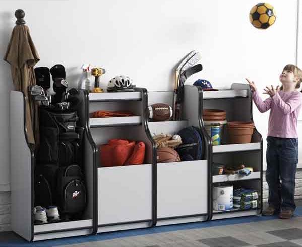 All-in-Order Storage Bins Woodworking Plan, Furniture Cabinets & Storage