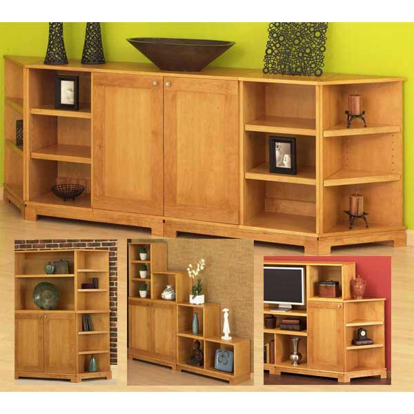 Shuffle 'n' Stack Cabinets Woodworking Plan, Furniture Cabinets & Storage