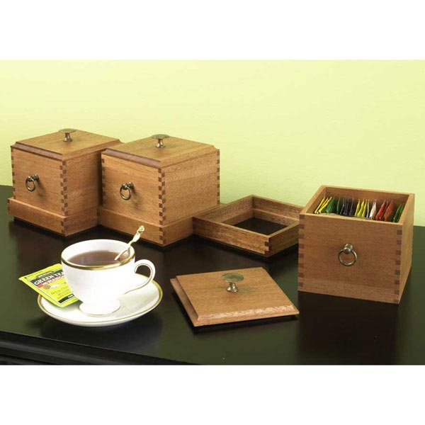 Box Ensemble Woodworking Plan, Gifts & Decorations Boxes & Baskets