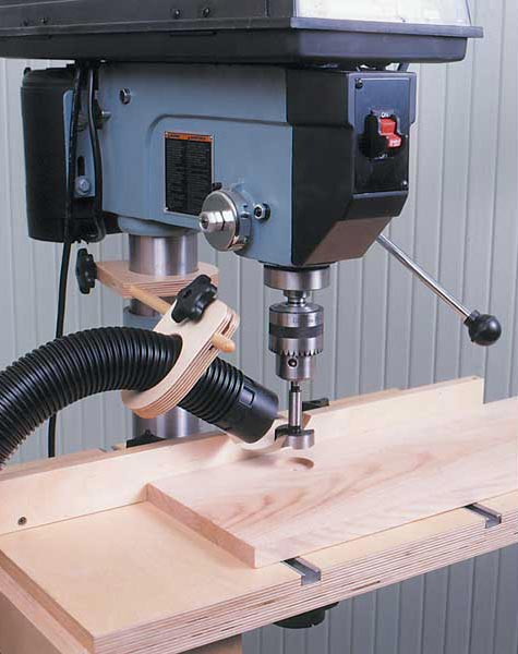 Drill Press Dust Collector