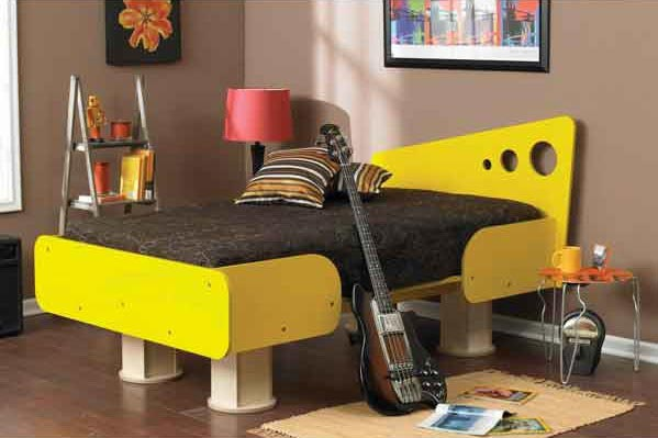 Knock-down Bed Woodworking Plan, Furniture Beds & Bedroom Sets