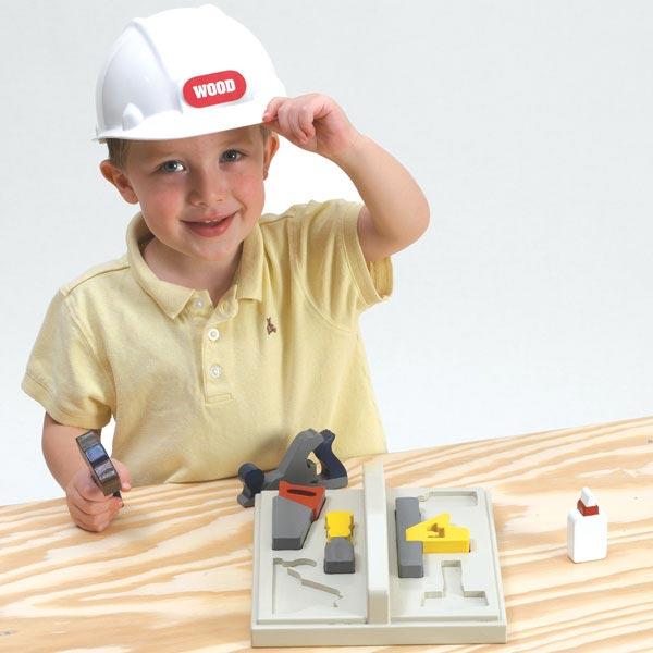 Start-'em-early Kid's Tool Tote Woodworking Plan, Toys & Kids Furniture