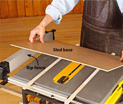 Zero-Clearance Cross Cut Sled Woodworking Plan, Workshop & Jigs Jigs & Fixtures Workshop & Jigs $2 Shop Plans