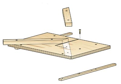Mighty Miter Sled Woodworking Plan, Workshop & Jigs Jigs & Fixtures Workshop & Jigs $2 Shop Plans