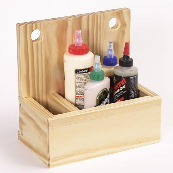 Glue Box Woodworking Plan, Workshop & Jigs Shop Cabinets, Storage, & Organizers Workshop & Jigs $2 Shop Plans