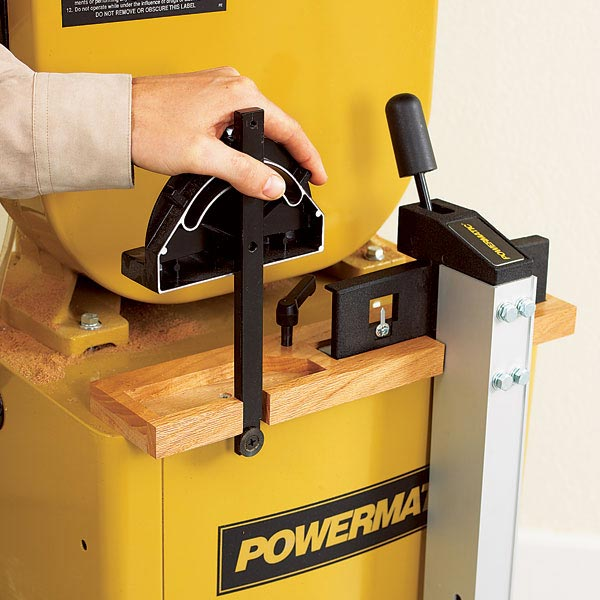 Bandsaw Accessory Store-All Woodworking Plan, Workshop & Jigs Shop Cabinets, Storage, & Organizers Workshop & Jigs $2 Shop Plans