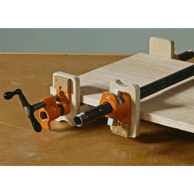 Stay-Put Pipe Clamp Pads Woodworking Plan, Workshop & Jigs Jigs & Fixtures Workshop & Jigs $2 Shop Plans