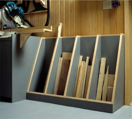 Cutoff Catchall Woodworking Plan, Workshop & Jigs Shop Cabinets, Storage, & Organizers Workshop & Jigs $2 Shop Plans