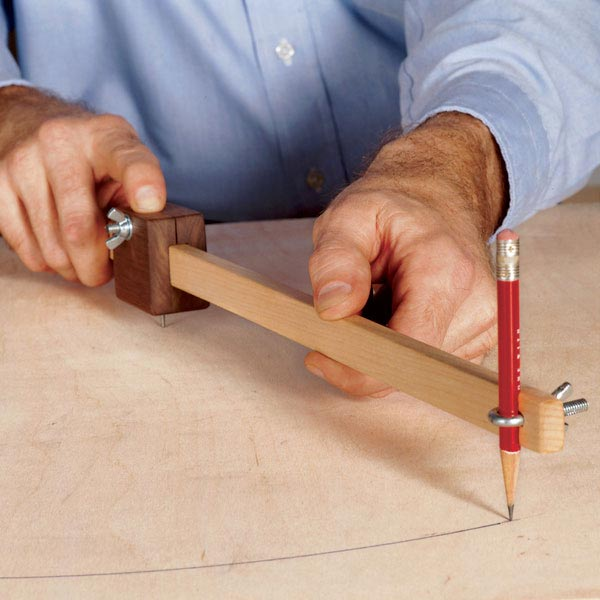 Scrapwood Trammel Woodworking Plan, Workshop & Jigs Jigs & Fixtures Workshop & Jigs $2 Shop Plans